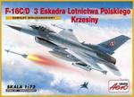 """Model samolot - samolot myśliwsko-bombowy F-16C Block 40B """"Fighting Falcon"""" 1:72 w sklepie internetowym Booknet.net.pl"""