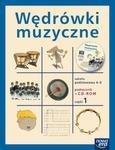 Wędrówki muzyczne. Klasy 4-6, szkoła podstawowa, część 1. Muzyka. Podręcznik (+CD) w sklepie internetowym Booknet.net.pl