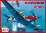 Model samolot - samolot myśliwski MESSERSCHMITT Bf-109T 1:72 w sklepie internetowym Booknet.net.pl