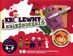 Rysuj z CzuCzu. Zmazuj z CzuCzu. Królewny i księzniczki. Zabawy kreatywne (4-7 lat) w sklepie internetowym Booknet.net.pl