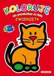 Koloruje nie przechodząc za linię Zwierzęta w sklepie internetowym Booknet.net.pl
