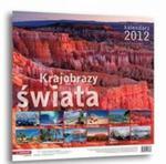 Kalendarz 2012 - Krajobrazy świata w sklepie internetowym Booknet.net.pl