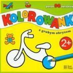 Kolorowanka z grubym obrysem w sklepie internetowym Booknet.net.pl