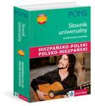 Pons Uniwersalny słownik hiszpańsko polski polsko hiszpański w sklepie internetowym Booknet.net.pl