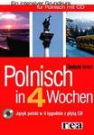 Polnisch in 4 Wochen Język polski w 4 tygodnie z płytą CD i programem multimedialnym w sklepie internetowym Booknet.net.pl