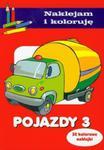 Pojazdy 3 Naklejam i koloruję w sklepie internetowym Booknet.net.pl