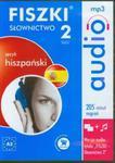 FISZKI audio Język hiszpański Słownictwo 2 w sklepie internetowym Booknet.net.pl