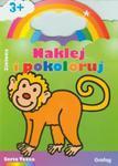 Naklej i pokoloruj Zielona w sklepie internetowym Booknet.net.pl