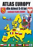 Atlas Europy dla dzieci 5-8 lat + naklejki - flagi i herby w sklepie internetowym Booknet.net.pl