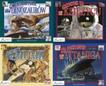 Zobacz na własne oczy. Cmentarzyska dinozaurów. Człowiek na księżycu... Pakiet czterech książek w sklepie internetowym Booknet.net.pl