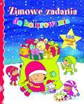 Zimowe zadania do kolorowania. 400 ciekawych zadań w sklepie internetowym Booknet.net.pl