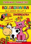 Kolorowanka. Zwierzątka. Zabawa i naklejki (od lat 3) w sklepie internetowym Booknet.net.pl