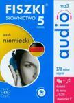 FISZKI audio Język niemiecki Słownictwo 5 w sklepie internetowym Booknet.net.pl