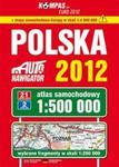 Polska Atlas samochodowy 2012 1:500 000 w sklepie internetowym Booknet.net.pl