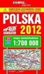 Polska. Mapa Samochodowa 1:700 000, oprawa miękka, wyd. 2012 w sklepie internetowym Booknet.net.pl