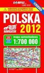 Polska. Mapa samochodowa 1:700 000, oprawa twarda, wyd.2012 w sklepie internetowym Booknet.net.pl