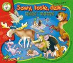 Sowy, łosie, dziki... Naklejki i wierszyki w sklepie internetowym Booknet.net.pl