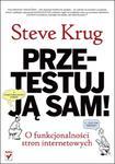 Przetestuj ją sam! Steve Krug o funkcjonalności stron internetowych w sklepie internetowym Booknet.net.pl