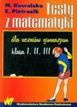 Testy z matematyki dla uczniów gimnazjum w sklepie internetowym Booknet.net.pl