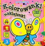 Kolorowanki naklejanki Wesołe zabawy w sklepie internetowym Booknet.net.pl