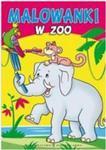 Malowanki W zoo w sklepie internetowym Booknet.net.pl