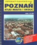 Poznań Atlas miasta i okolic w sklepie internetowym Booknet.net.pl