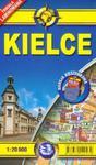 Plan miasta. Kielce 1:20 000 laminowany midi kieszonkowy w sklepie internetowym Booknet.net.pl