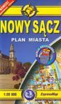 Nowy Sącz plan miasta 1:20 000 w sklepie internetowym Booknet.net.pl