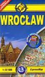 Wrocław plan miasta 1:22 500 w sklepie internetowym Booknet.net.pl