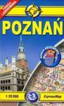 Plan miasta. Poznań 1:20 000 Midi Laminowany kieszonkowy w sklepie internetowym Booknet.net.pl