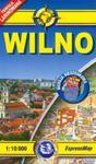 Wilno. Kieszonkowy, laminowany plan miasta. 1:10 000 w sklepie internetowym Booknet.net.pl