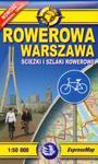 Rowerowa Warszawa Mapa ścieżek i szlaków rowerowych w sklepie internetowym Booknet.net.pl