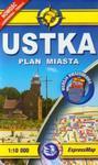 Ustka plan miasta 1:10 000 w sklepie internetowym Booknet.net.pl
