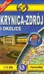 Krynica Zdrój i okolice mapa turystyczna 1:15 000 w sklepie internetowym Booknet.net.pl
