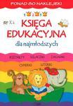 Księga edukacyjna dla najmłodszych. Ponad 80 naklejek w sklepie internetowym Booknet.net.pl