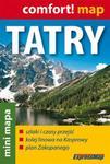 Tatry. Zakopane. Mini mapa w sklepie internetowym Booknet.net.pl