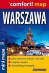 Warszawa mini mapa 1:26 000 w sklepie internetowym Booknet.net.pl
