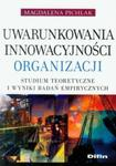 Uwarunkowania innowacyjności organizacji w sklepie internetowym Booknet.net.pl