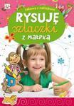 Rysuję szlaczki z małpką Zabawa z naklejkami w sklepie internetowym Booknet.net.pl