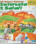 Odlewy gipsowe - Zwierzęta z sasfari w sklepie internetowym Booknet.net.pl