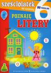 Sześciolatek na szóstkę Poznaję litery w sklepie internetowym Booknet.net.pl