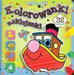 Wesoła podróż. Kolorowanki naklejanki w sklepie internetowym Booknet.net.pl