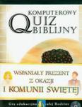 Komputerowy quiz biblijny w sklepie internetowym Booknet.net.pl