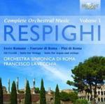 Respighi: Complete Orchestral Music Vol.1 w sklepie internetowym Booknet.net.pl