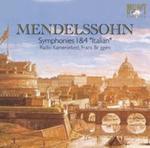 """Mendelssohn: Symphonies 1 & 4 """"Italian"""" w sklepie internetowym Booknet.net.pl"""