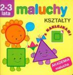 Maluchy Kształty z naklejkami Akademia malucha w sklepie internetowym Booknet.net.pl