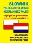 Słownik polsko niderlandzki niderlandzko polski czyli jak to powiedzieć po niderlandzku w sklepie internetowym Booknet.net.pl