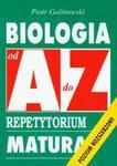 Biologia od A do Z Repetytorium w sklepie internetowym Booknet.net.pl