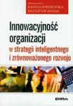 Innowacyjność organizacji w strategii inteligentnego i zrównoważonego rozwoju w sklepie internetowym Booknet.net.pl