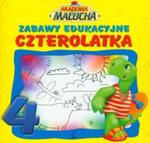 Zabawy edukacyjne czterolatka Akademia malucha w sklepie internetowym Booknet.net.pl